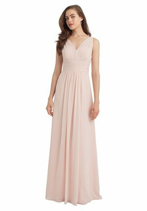 Bill Levkoff 1115 V-Neck Bridesmaid Dress