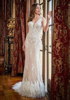 Jasmine Couture T222061 Sheath Wedding Dress