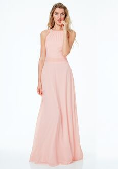 #LEVKOFF 7040 Scoop Bridesmaid Dress