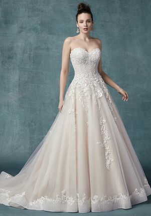 Maggie Sottero ZINAIDA A-Line Wedding Dress