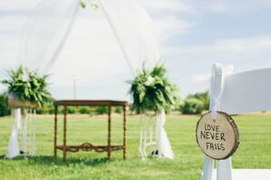 Royal Oak Farm Orchard Outdoor Wedding