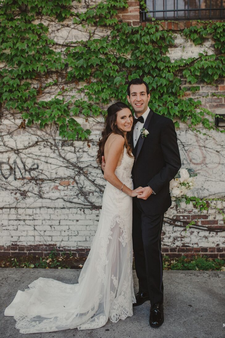 Nancy Cinque (33 and a visual display stylist) and Michael Arcello (33 and a sales director) grew up in neighboring towns and were friends for several
