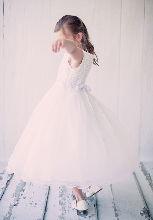 Kid's Dream 368 Ivory Flower Girl Dress