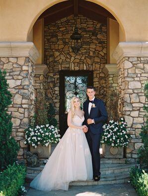 Romantic, Earthy Wedding at Malibu Villa