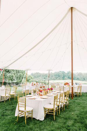 Sail Cloth Tent Reception