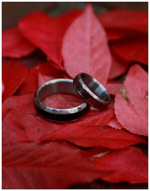 Leigh Jay Nacht Wedding Rings