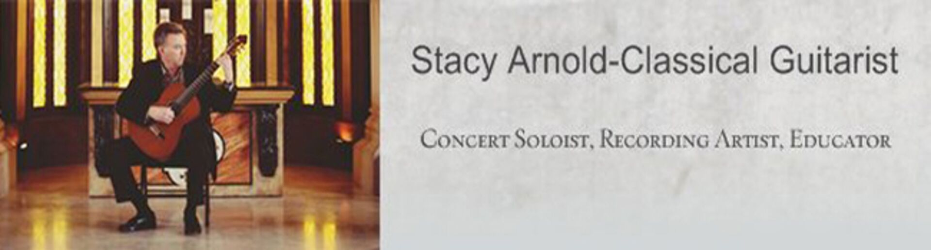 Stacy Arnold-Classical Guitarist