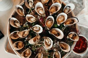 Oysters on a Serving Platter