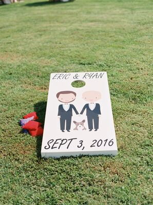 Customized Painted Corn Hole Board