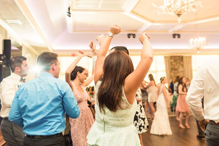 Among Mollie's favorite moments was seeing all her friends and family on the dance floor—even her 90-year-old grandmother who joined in for the hora and bouquet toss.