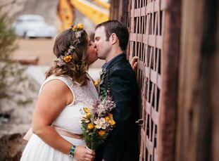 This couple went above and beyond to make their elopement beautiful, just like them. Longtime sweethearts Mary Chin (30 and a stay-at-home mother and