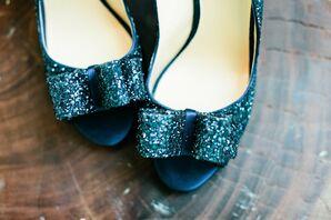 Kate Spade Glitter Bridal Shoes