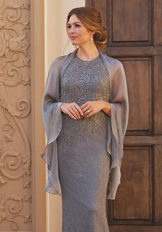 Jade Couture Mother of the Bride by Jasmine K208060 Grey Mother Of The Bride Dress