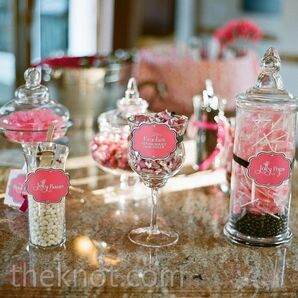 Pink and White Candy Bar