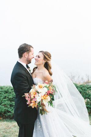 Elegant, Classic Bride and Groom