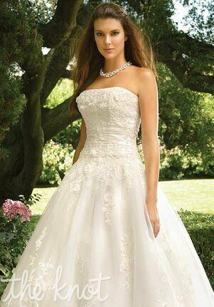 Casablanca Bridal 2017 Ball Gown Wedding Dress