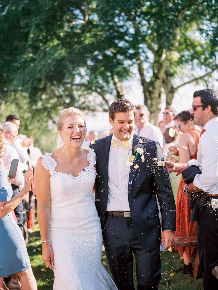Recessional with a Petal Toss