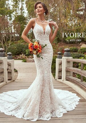 IVOIRE by KITTY CHEN DANIELA, V2014 Mermaid Wedding Dress