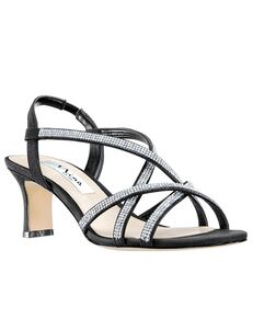 Nina Bridal Noni_Black Black Shoe