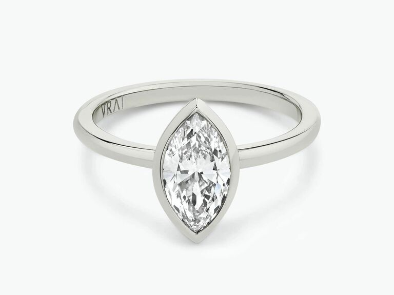 Vrai engagement ring