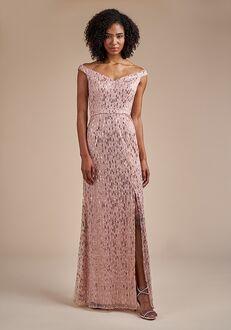 Belsoie Bridesmaids by Jasmine L224061 Off the Shoulder Bridesmaid Dress