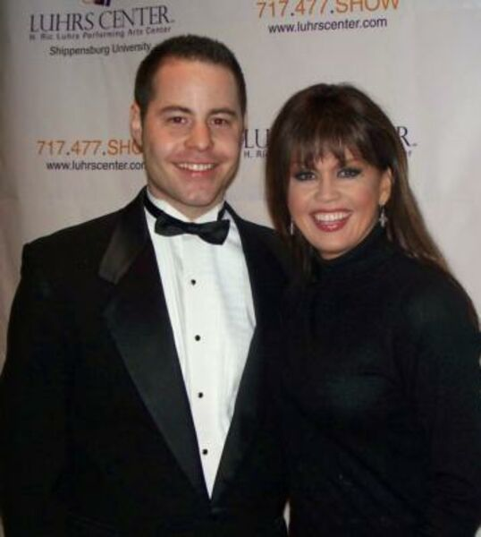 with Marie Osmond