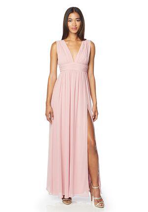 #LEVKOFF 7140 V-Neck Bridesmaid Dress