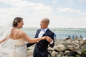 Beachside Wedding in New Jersey