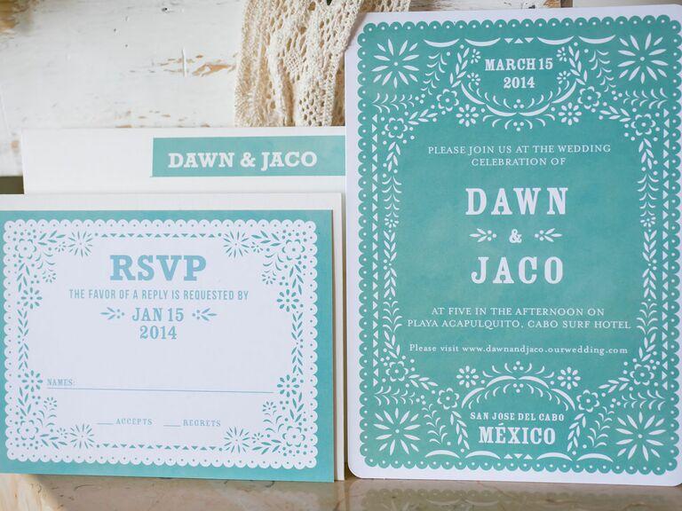cinco de mayo inspired wedding ideas