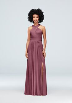 David's Bridal Collection David's Bridal Style F19952 Halter Bridesmaid Dress
