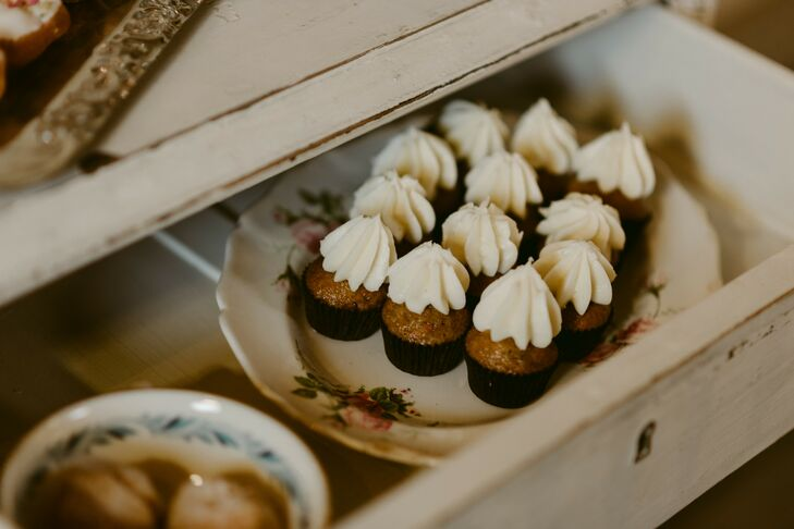 Mini Cupcakes with Icing in Drawer