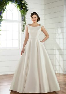 Essense of Australia D2485 Ball Gown Wedding Dress