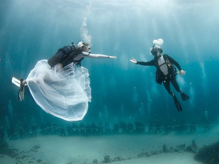 Underwater Wedding | Host An Underwater Wedding In Monte Carlo