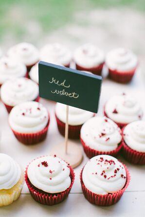 Buttercream Frosted Red Velvet Cupcakes
