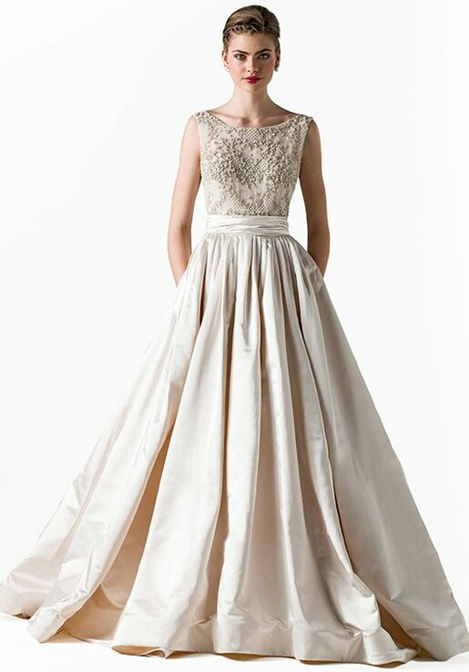 Anne Barge Star Ball Gown Wedding Dress
