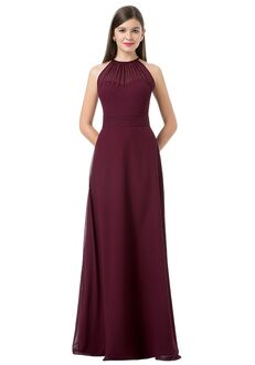 Bill Levkoff 1214 Illusion Bridesmaid Dress