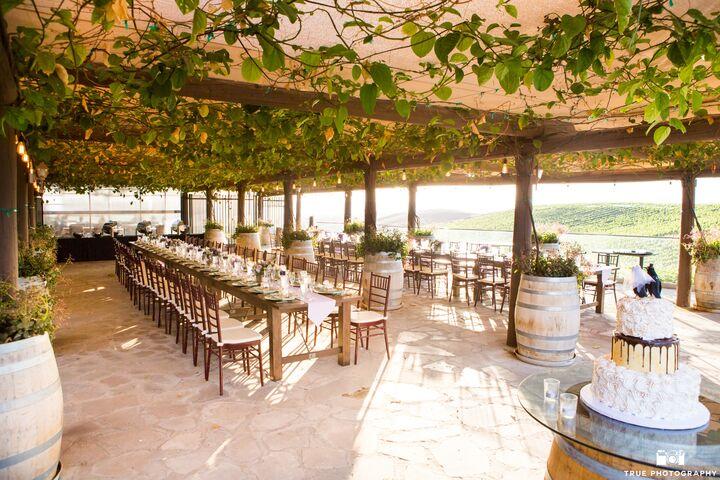 Wine Country Wedding Venues Temecula Stuart Cellar Winery