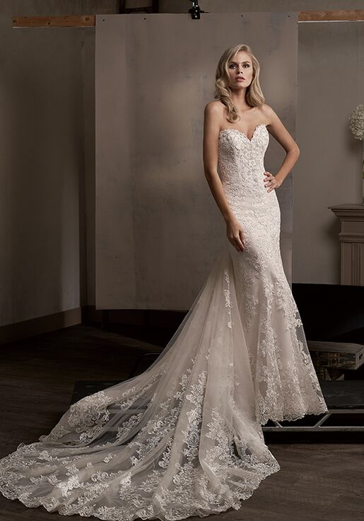 Jasmine Couture T192003 Sheath Wedding Dress