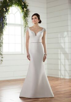 Essense of Australia D2427 Mermaid Wedding Dress