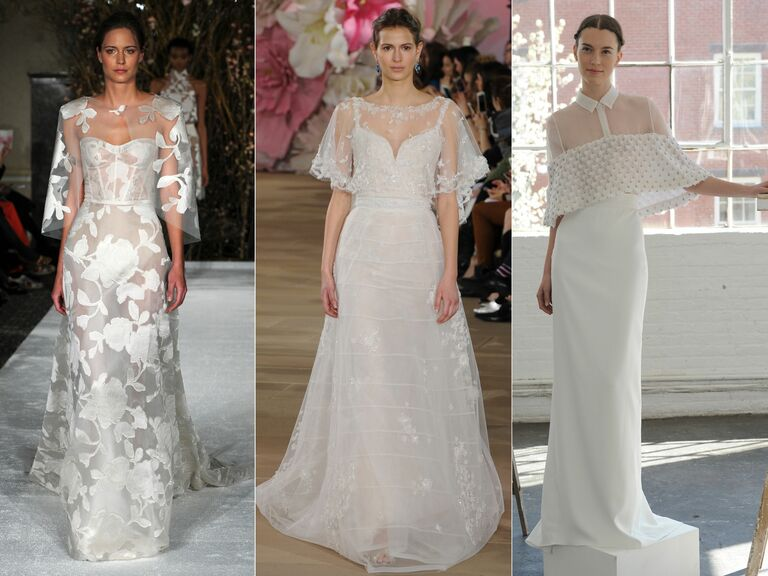 Top Wedding Dress Trends From Spring 2017 Bridal Fashion