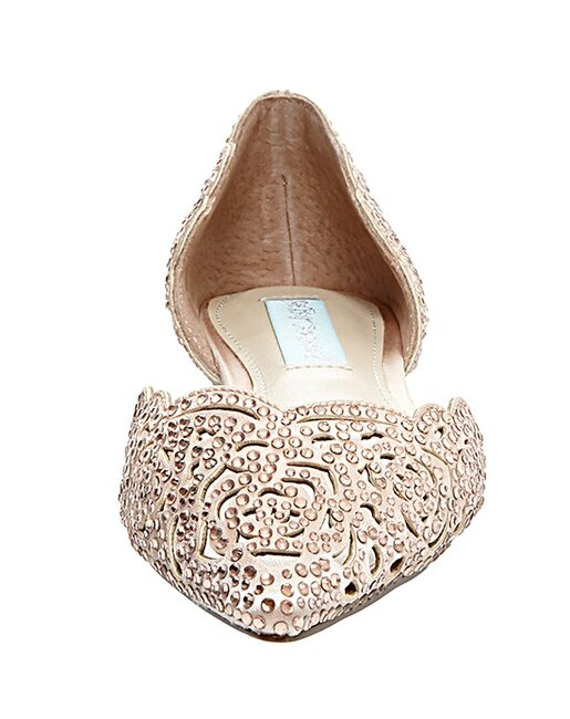 Blue by Betsey Johnson SB-LUCY-champagne Champagne Shoe