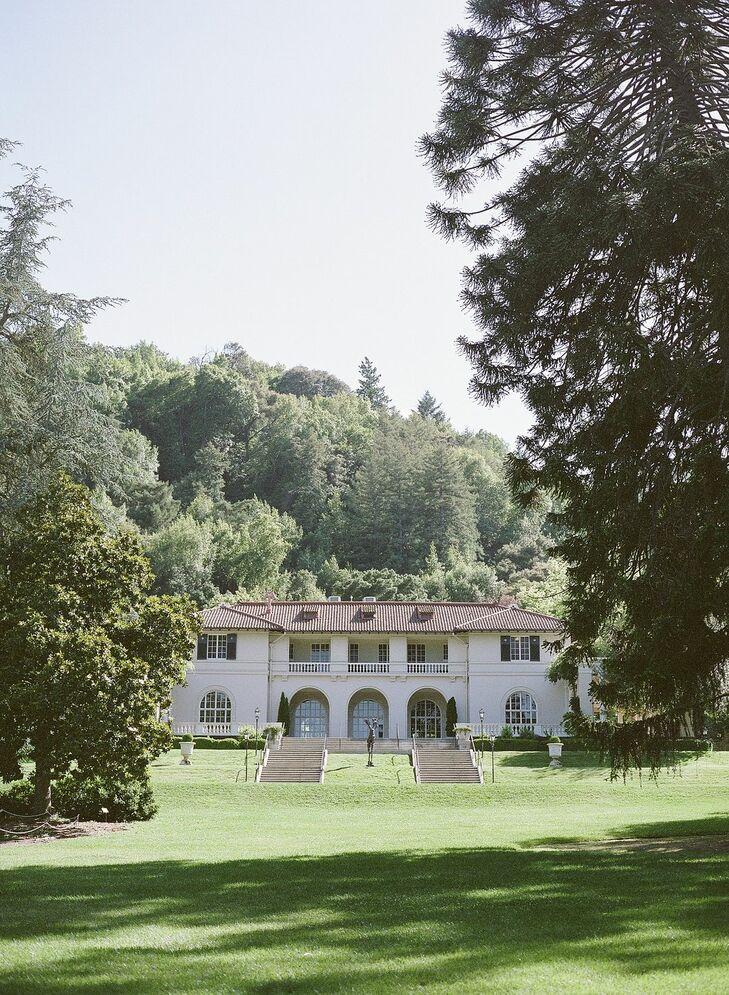 Wedding at Montalvo Arts Center in Saratoga, California