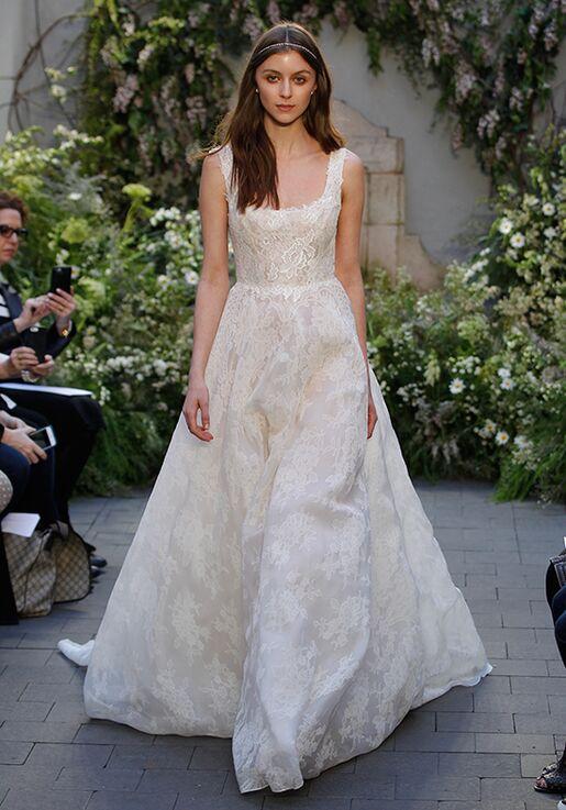 Monique Lhuillier Bella Ball Gown Wedding Dress