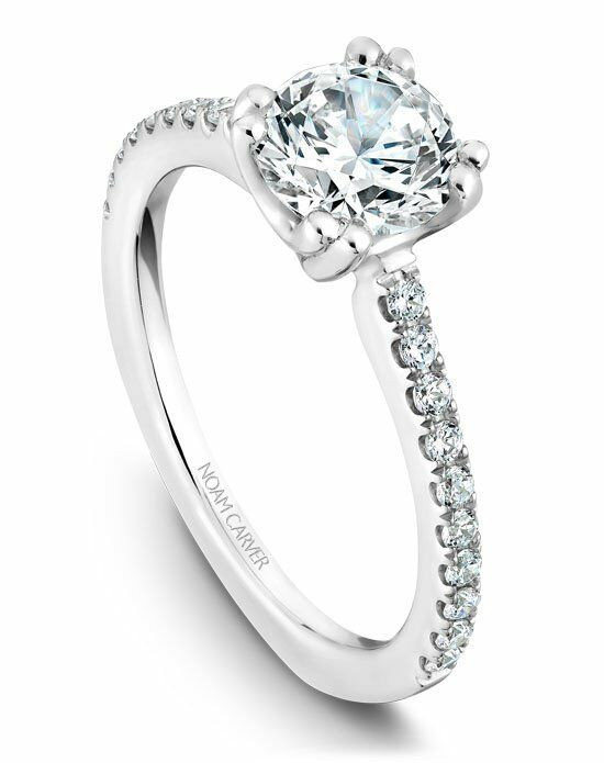 Noam carver b001 01ws 100a wedding ring the knot for The knot gift registry