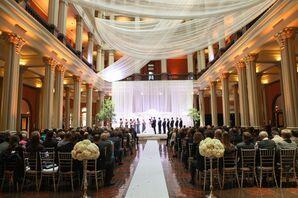 Glamorous Minnesota Landmark Center Ceremony