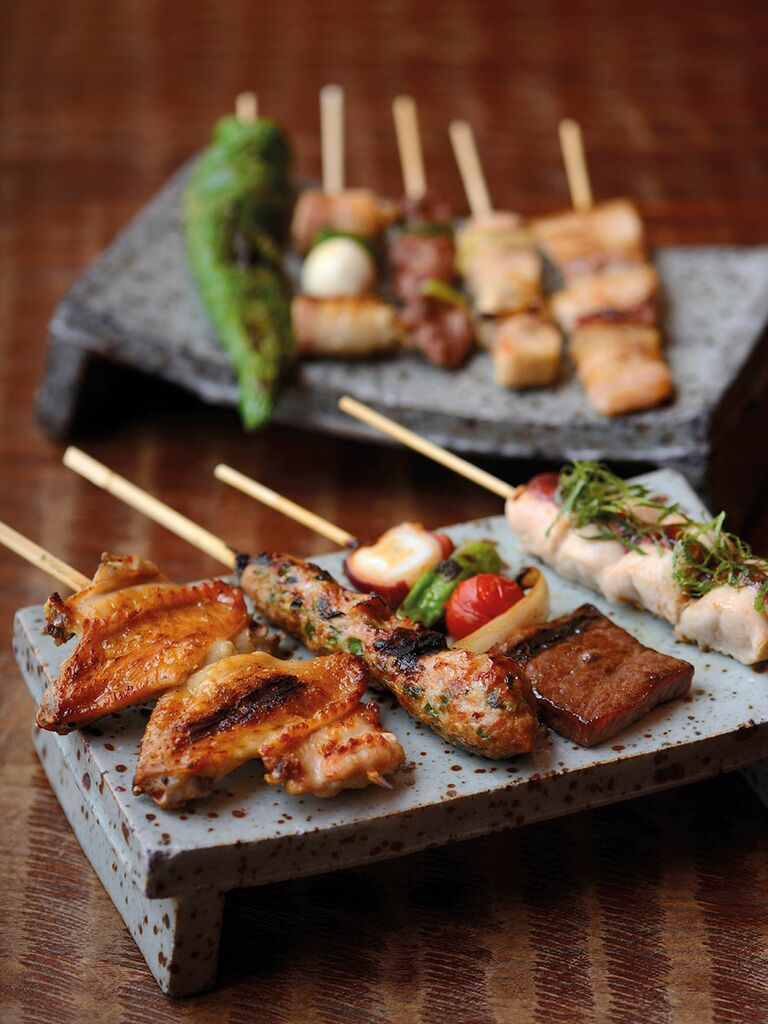Southern Japan, Hachi-Bei, Yakitori, Grilled meat