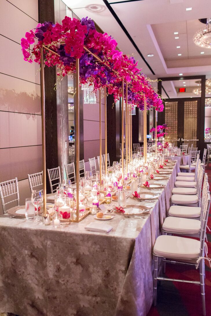 Towering Orchid Centerpiece
