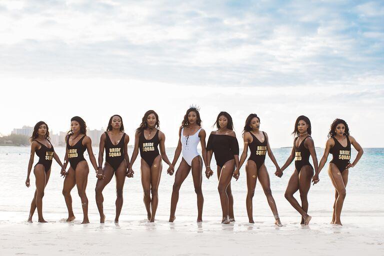Bachelorette party Shaunae Miller beach destination