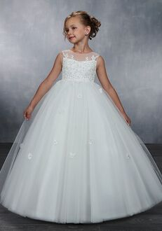 Mary's Angel by Mary's Bridal MB9043 White Flower Girl Dress