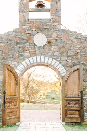 A Rustic Outdoor Ceremony